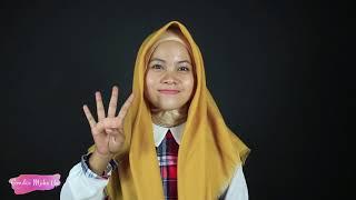7 Tutorial Hijab Kekinian Segi  Empat Rawis Simple
