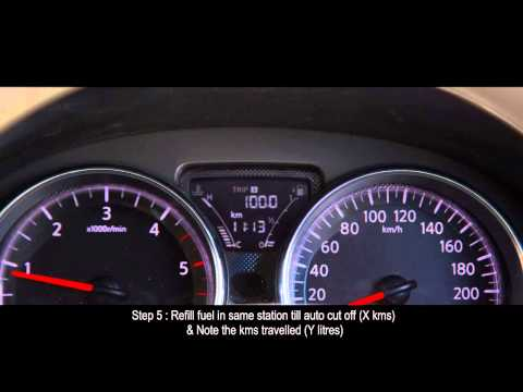 How to Calculate Fuel Economy.