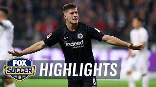 Luka Jovic scores 5 goals vs. Fortuna Dusseldorf | 2018-19 Bundesliga Highlights