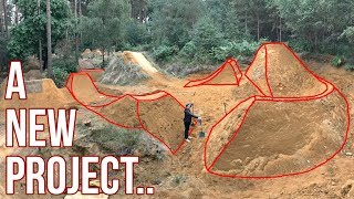 A NEW PROJECT!! BUILDING THE ULTIMATE MTB JUMPS