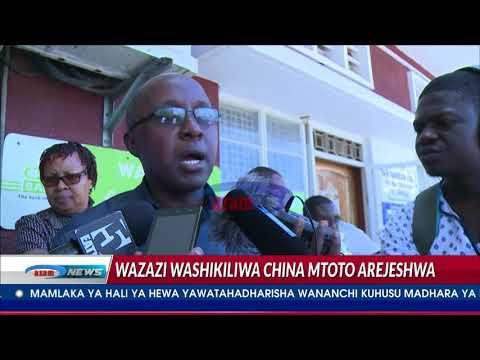 Wazazi washikiliwa China, mtoto arejeshwa