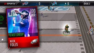 😂 100 OVERALL NICK FOLES WIDE RECEIVER! GREATEST WR OF ALL TIME! 😂