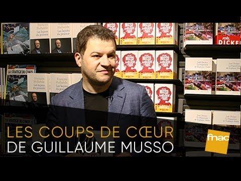 Les coups de cœur de Guillaume Musso