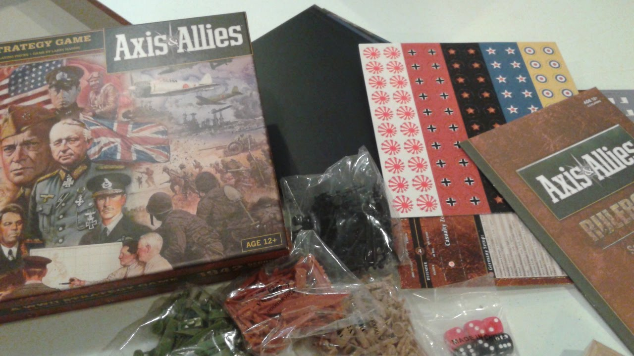 Axis and allies 1942 2nd edition strategy