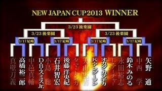 NEW JAPAN CUP 2013.3.17 AMAGASAKI OPENING VTR