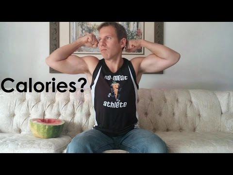 How many calories do I get on my high fruit vegan bodybuilding diet?