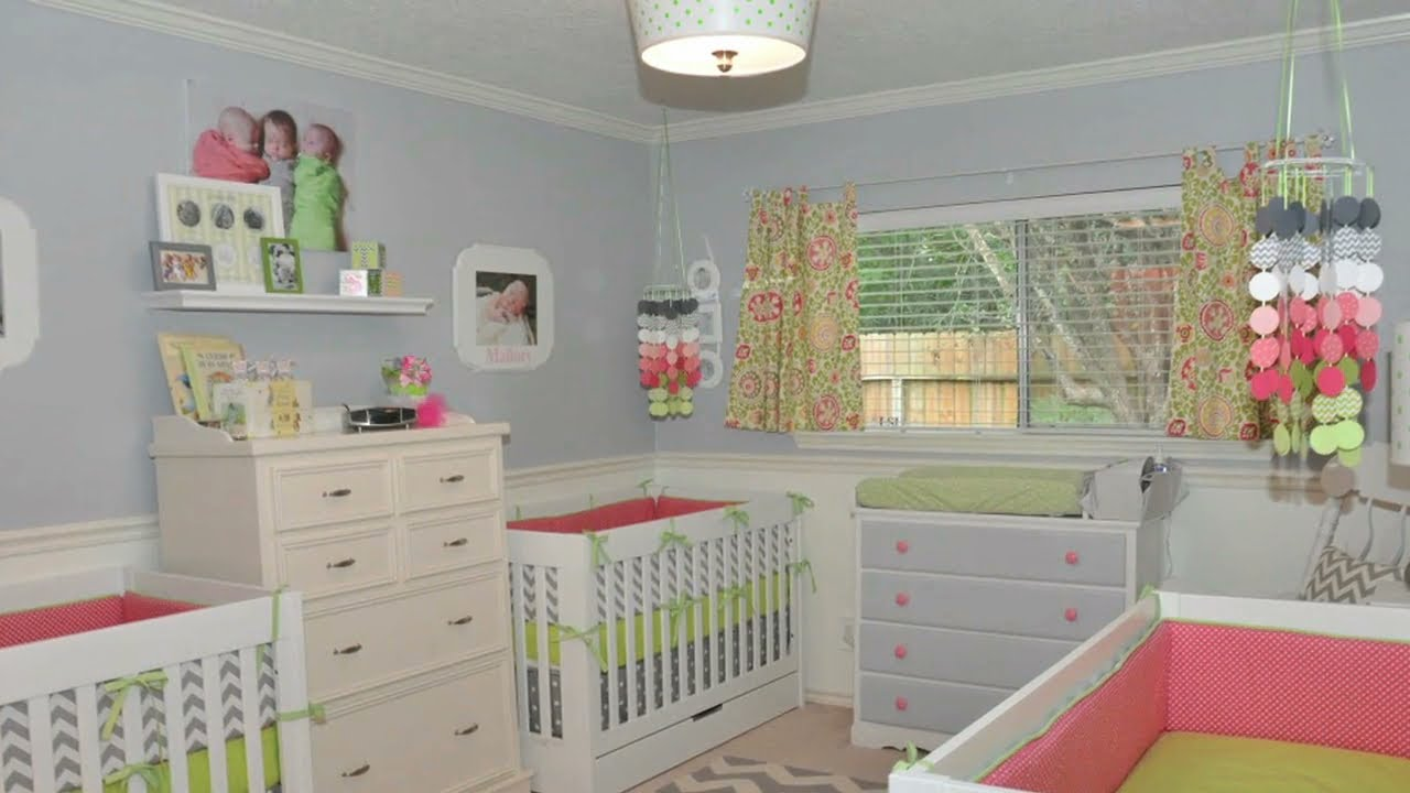 Design Challenge A Nursery for Triplets  YouTube