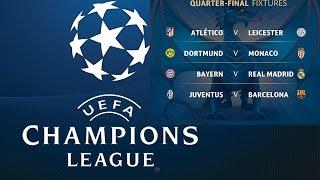 1 4 finals champions league second legs review semi finals draw football niberium tv 4