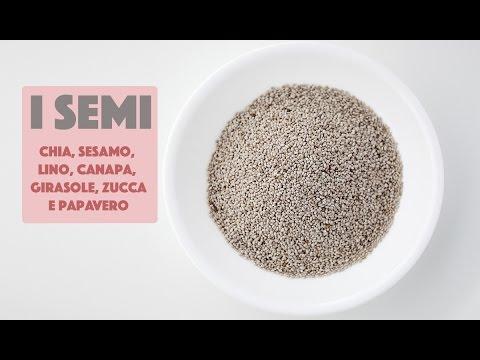 lino di chia e semi di sesamo per dimagrire
