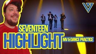 Video Mikey Reacts to SEVENTEEN 'Highlight' MV & Dance Practice download MP3, 3GP, MP4, WEBM, AVI, FLV Agustus 2018