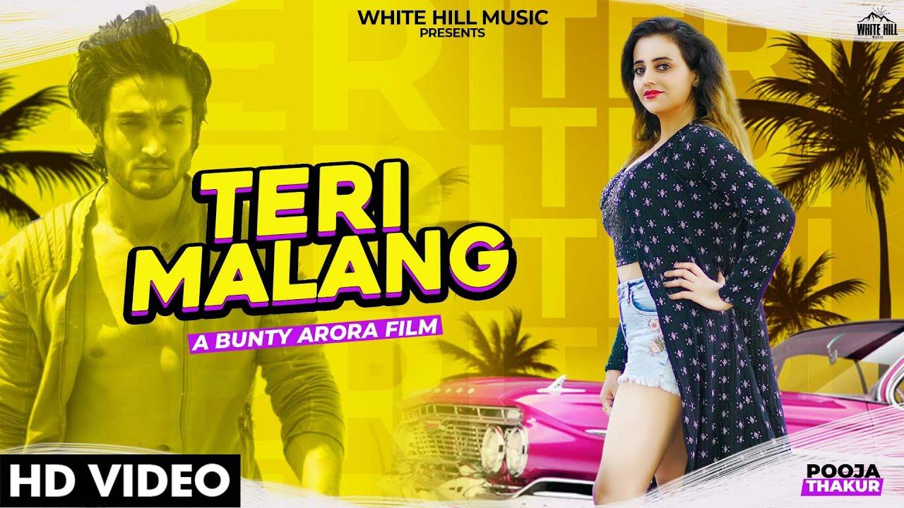 Teri Malang Pooja Thakur Mp3 Song Download 2020