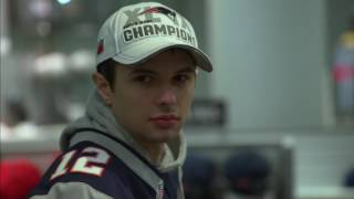 Pats fans line up for championship gear