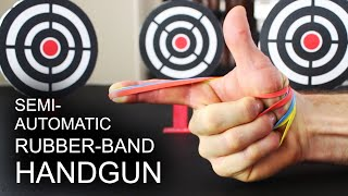 World's Simplest, Semi-Automatic, Rubber Band Handgun thumbnail