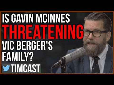 Did Gavin McInnes and the Proud Boys Threaten Vic Berger?