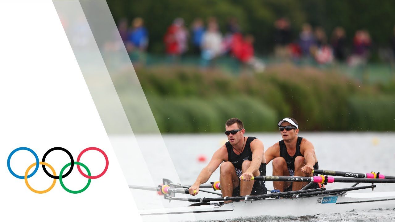 New Zealand Win Men's Double Sculls Final A - London 2012 ...
