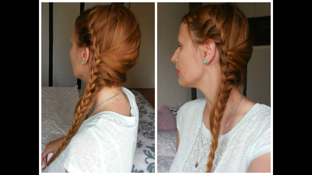 Tresse Africaine Sur Le C 244 T 233 French Braid Side Hair