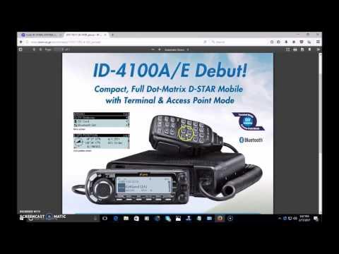 Icom ID-4100A D-Star mobile