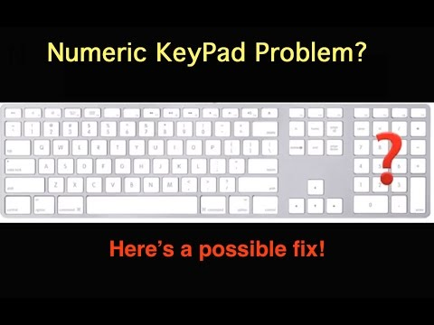 Keypad Letters Not Working