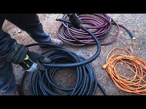 AMAZING LIFE HACK - NEVER KINK A HOSE AGAIN!
