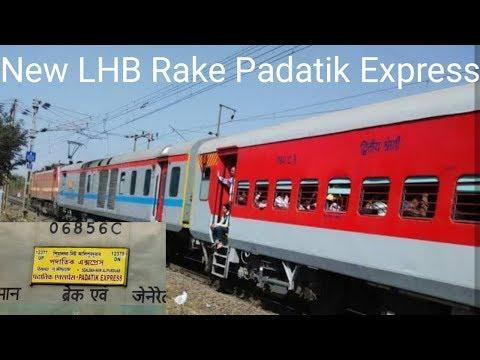 New LHB Rake Padatik Express