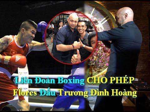 Liên Đoàn Boxing CHO PHÉP Flores Đấu Trương Đình Hoàng