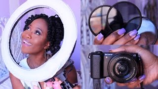 Video/Photography Equipment YouTube & Instagram! || Girl Tech #1 | JASMINE ROSE review budget