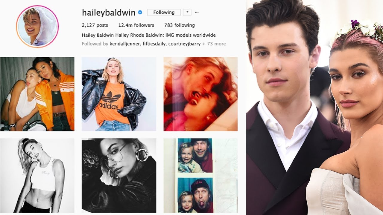 b31a9833ff658 Hailey Baldwin Deleted All Her Instagram Photos of Shawn Mendes ...