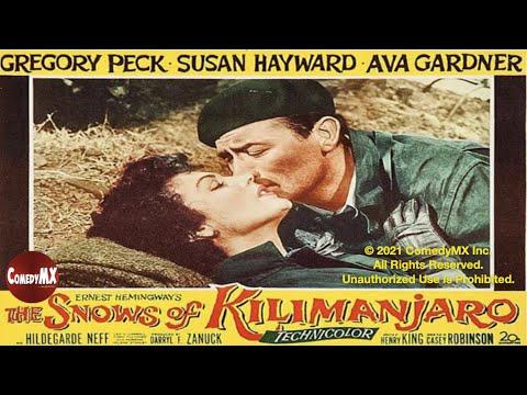 Snows of Kilimanjaro (1952) | Gregory Peck | Susan Hayward | Ava Gardner