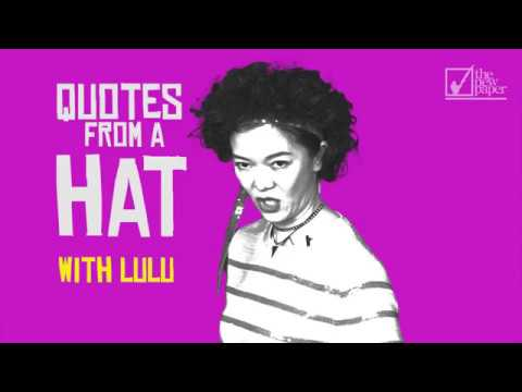 Quotes In A Hat With Lulu Lulu The Movie YouTube Beauteous Lulu Quotes