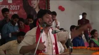 kanhaiya kumar on tripal talak and yogi adityanath