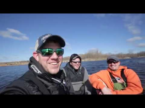 Monster Walleye Action!