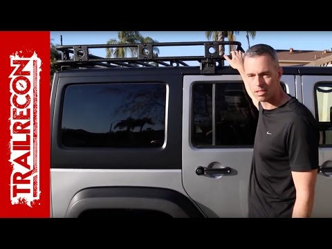 Smittybilt Defender Roof Rack Installation - Jeep Wrangler JK