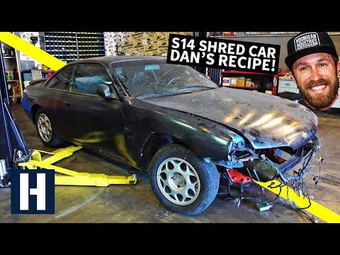 S14 Drift/Shred Car Built From a $500 Shell: Danger Dan's