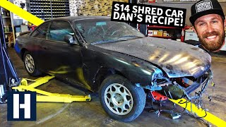S14 Drift/Shred Car Built From a $500 Shell: Danger Dan's Not-So-Secret Recipe!