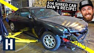 Download S14 Drift/Shred Car Built From a $500 Shell: Danger Dan's Not-So-Secret Recipe! Mp3 and Videos