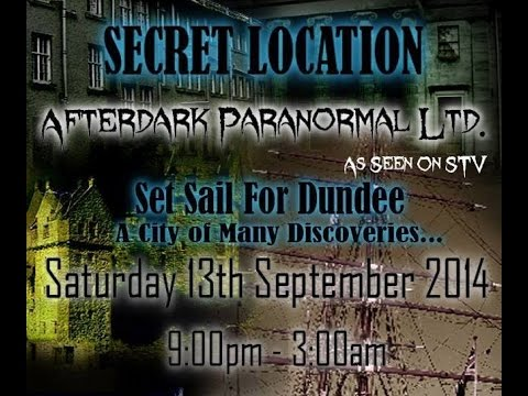 Secret Location RRS Discovey Paranormal Investigation