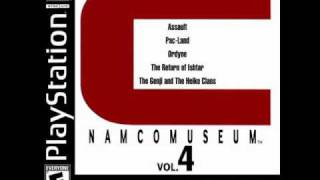 Namco Museum Vol. 4 - Robot Band PicPac Game Room Theme (vocal)