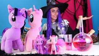 Cadı Sevcan Ponyleri eski haline dönüştürüyor! Kız oyunu