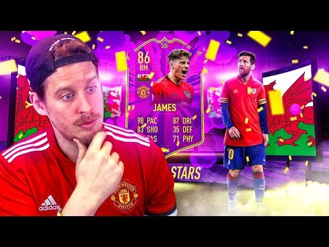 THE WELSH MESSI?! 86 FUTURE STARS DANIEL JAMES PLAYER REVIEW! FIFA 20 Ultimate Team