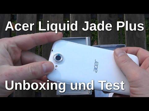 Acer Liquid Jade Plus Unboxing und Test - www.technoviel.de