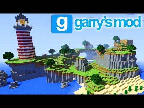 GMOD Funny Moments - O MAPA DO MINECRAFT! (Garry's Mod) - YouTube
