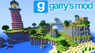GMOD Funny Moments - O MAPA DO MINECRAFT! (Garry's Mod)