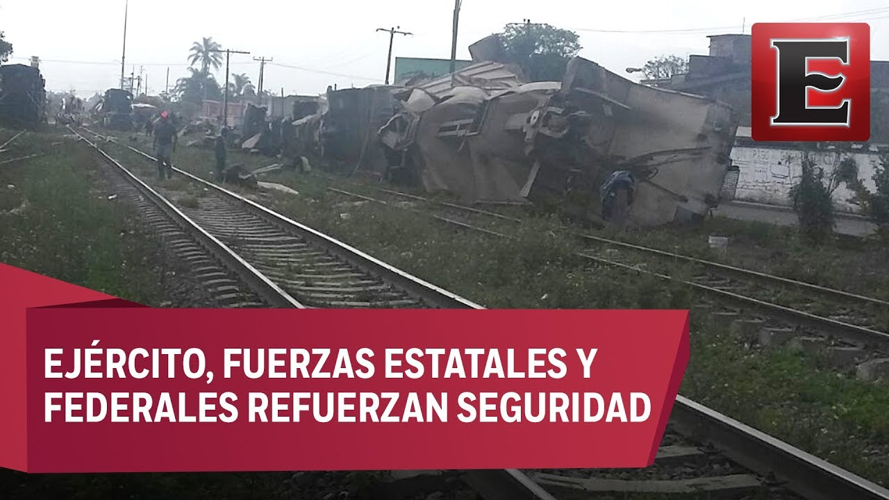 Reanudan en Orizaba circulación de trenes en vía afectada por ...