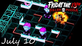 Friday the 13th Killer Puzzle Daily Death July 10 2020 Walkthrough