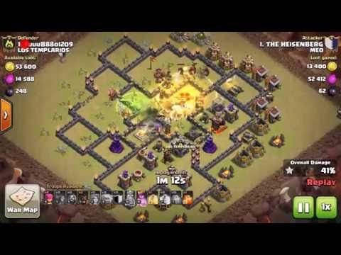 TOWN HALL 9 WAR ATTACK STRATEGIES [ HINDI ]