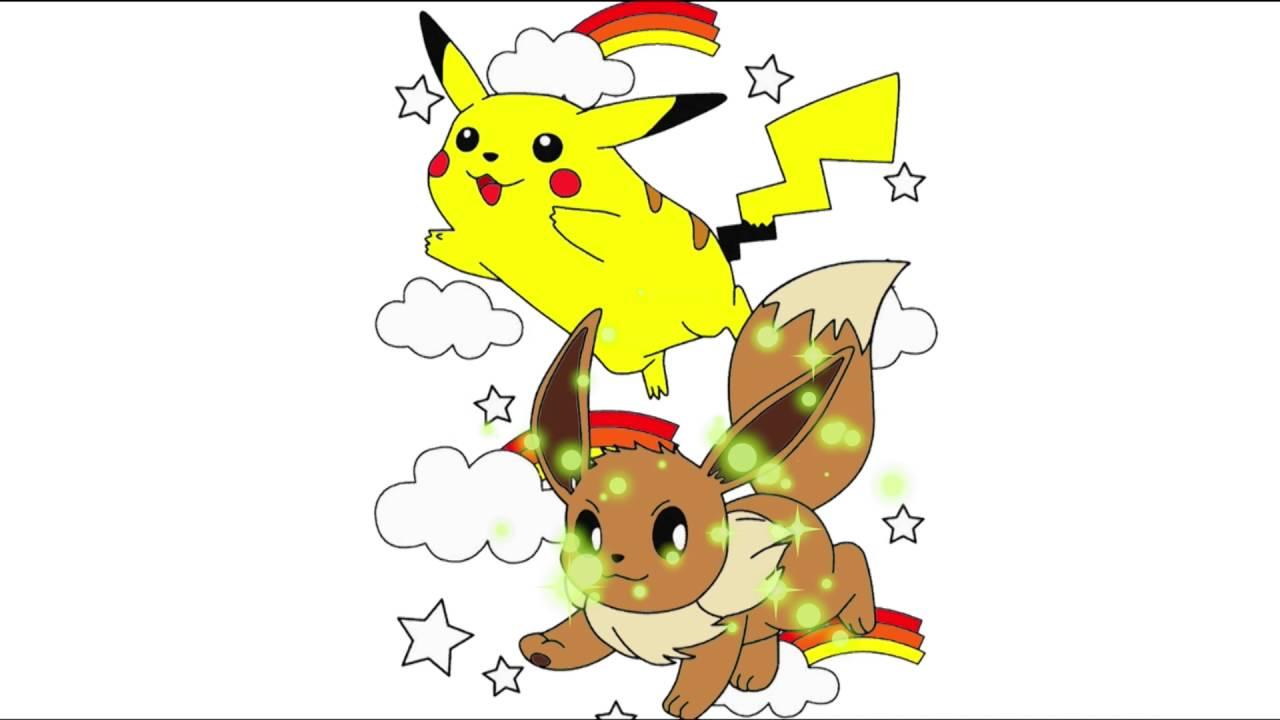 Pokemon Pikachu çizgi Film Karakter Boyama Sayfası 1 Minik Eller