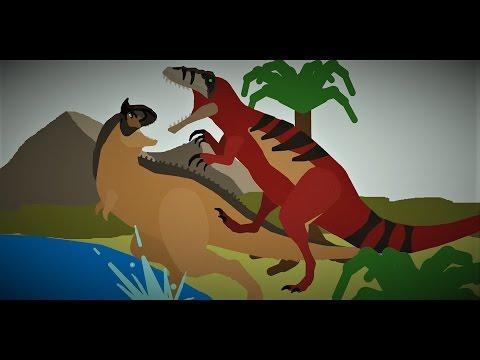 Megaraptor Vs Carnotaurus! Jurassic Dinosaur Battle!