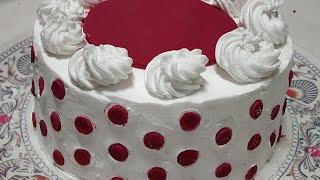 Red Velvet Cake(Subtitles)||Eggless Cooker Cake, No Oven No Egg||घर पर बनाएँ कुकर मे बिन अंडे का केक