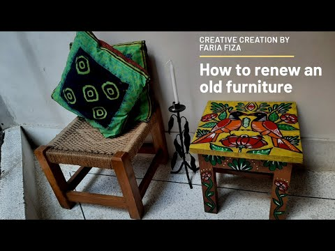 পুরাতন-আসবাবকে-নতুনভাবে-উপস্থাপন-#rickshawprint-#furniture-#renew