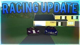 NEW RACING UPDATE!! | ROBLOX - Ultimate Driving Westover Islands